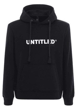 Untitled Cotton Blend Jersey Hoodie