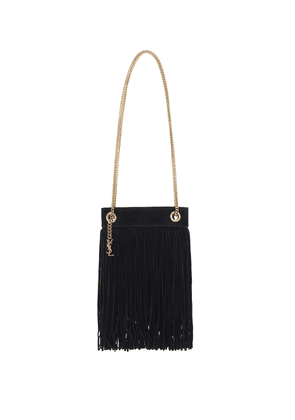 Grace Small fringed suede tote