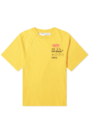 Off-White Industrial Y013 Reconstructed Tee