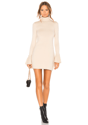 House of Harlow 1960 x REVOLVE Marni Dress in Neutral. Size L,M,S,XS.