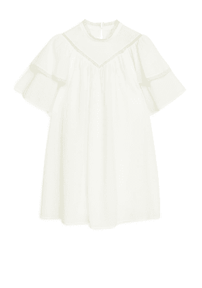 Tiered A-Line Tunic - White