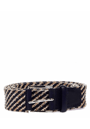 Orciani Belt in braided leather