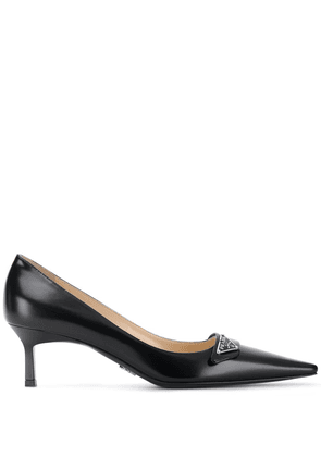 Prada pointed leather pumps - Black
