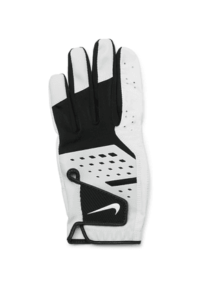 Nike - Tech Extreme VII Leather-Trimmed Stretch-Jersey Golf Gloves - Men - Unknown