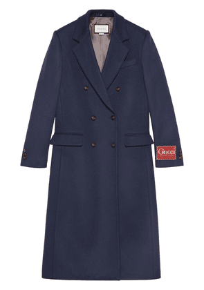 Gucci double-breasted coat - Blue