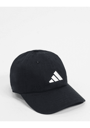 adidas Athletics Pack Dad cap in black & white