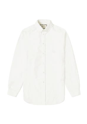 Gucci Logo Oxford Shirt