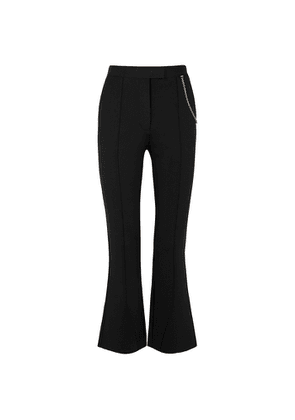 Givenchy Black Kick-flare Trousers