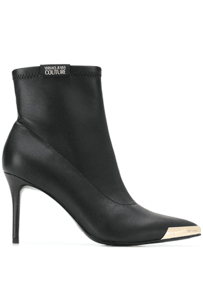 Versace Jeans Couture stiletto ankle boots - Black