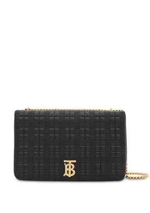 Burberry Extra Large Quilted Lambskin Lola Bag - Black