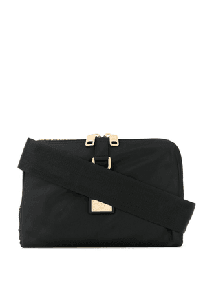 Dolce & Gabbana logo-tag messenger bag - Black