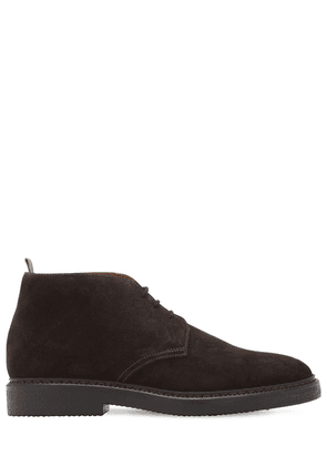 Chukka Suede Lace-up Boots