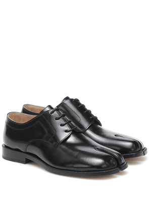 Tabi leather Derby shoes