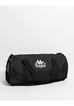 Kappa holdall bag with logo in black