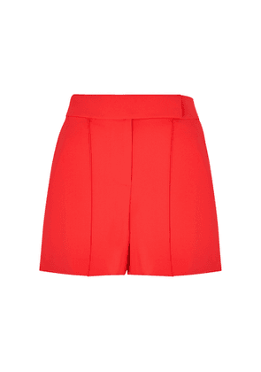 Alice + Olivia Dylan Red Shorts