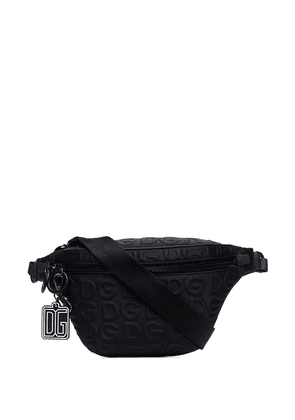 Dolce & Gabbana DG logo-embossed belt bag - Black
