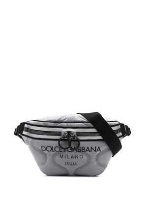 Dolce & Gabbana logo-printed belt bag - Grey