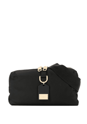 Dolce & Gabbana logo plaque detail belt bag - Black