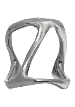 Chin Teo Silver Cave Ring