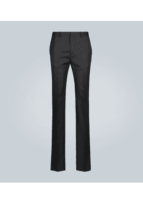 Formal pants with logo
