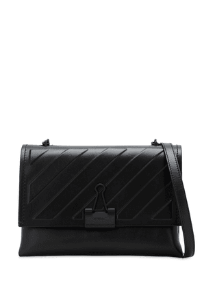 Diag Embossed Soft Leather Bag