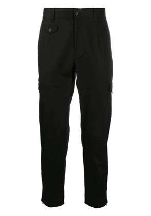 Dolce & Gabbana slim-fit mid-rise trousers - Black