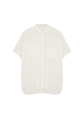 Equipment Alvia Off-white Silk Blouse