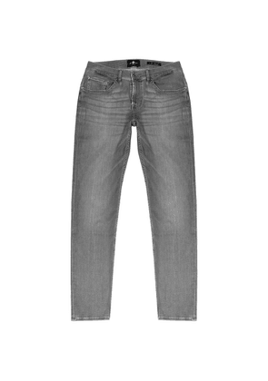 7 For All Mankind Slimmy Tapered Grey Jeans