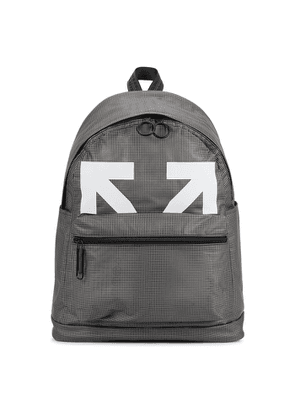 Off-White Arrows Checked PVC Backpack