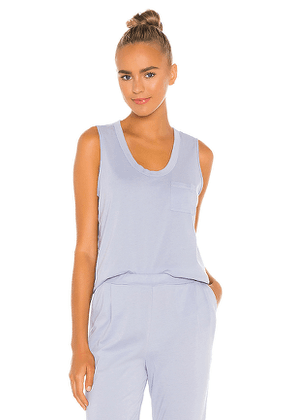 Skin Elodie Tank in Baby Blue. Size L,S,XS.