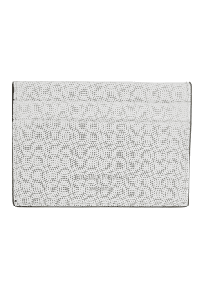 Common Projects White Multi Card Holder