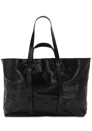 Commercial Leather Tote Bag