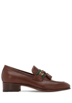 30mm Paride Leather Loafers