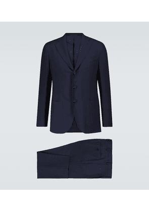 Aida slim-fit wool suit