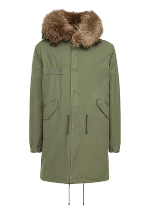 Military Cotton Parka Coat