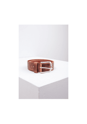 Eagle Agencies Distressed Leather Belt Colour: Brown