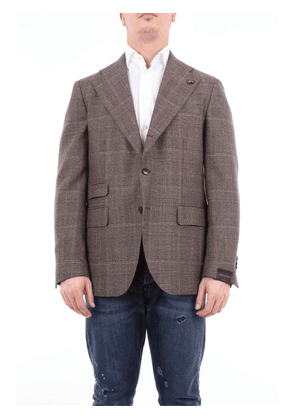 Gabriele Pasini single-breasted wool jacket