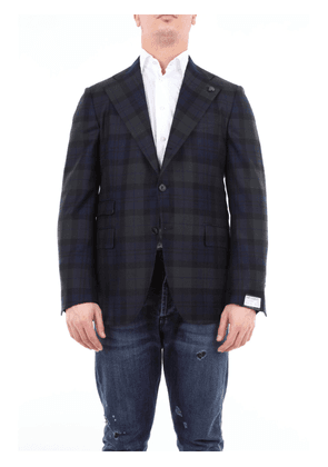 Gabriele Pasini checked wool jacket