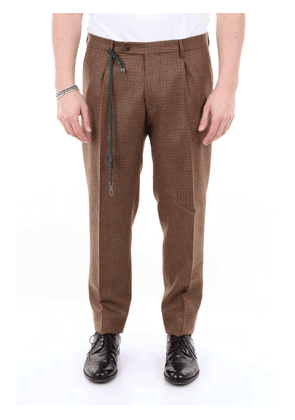 Berwich patterned trousers with pence