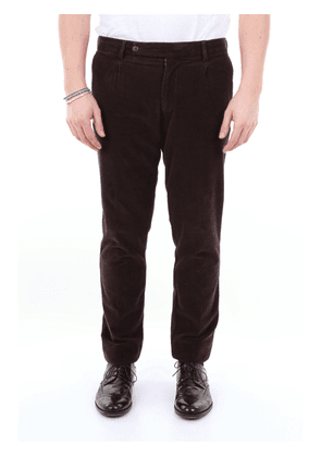 Berwich solid color trousers made in Italy
