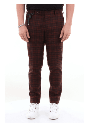 Berwich virgin wool trousers with French pocket