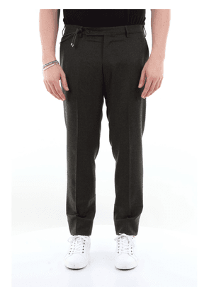 Berwich classic wool trousers with French pocket