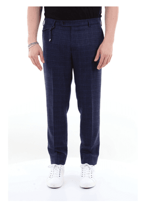 Berwich regular virgin wool trousers with French pocket