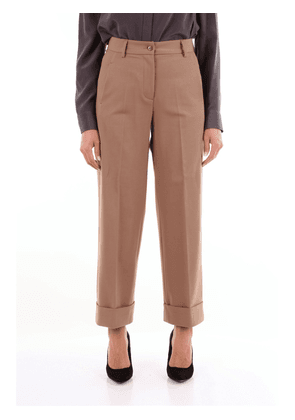 Brag-Wette camel chino trousers