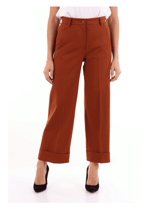 Brag-Wette camel-colored chino trousers