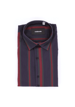 Costumein classic two-tone striped shirt