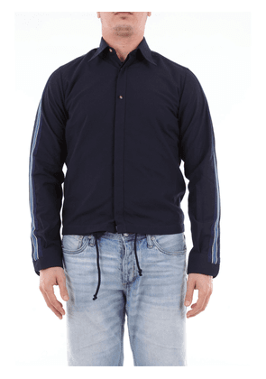 DNL solid color shirt with contrasting side bands
