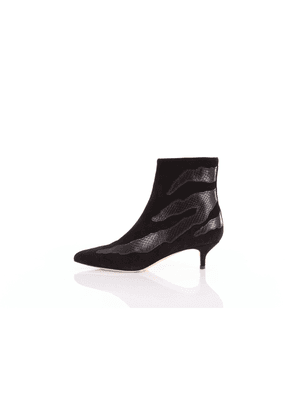 Gia Couture Solid color ankle boot