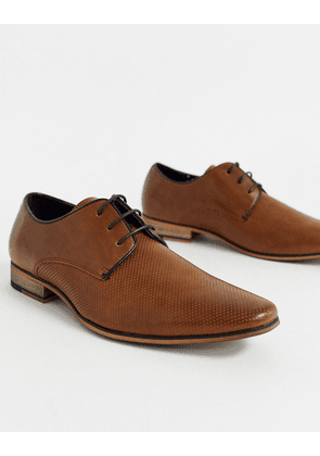 River Island derby in brown