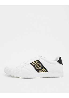 River Island trainers with wasp in white